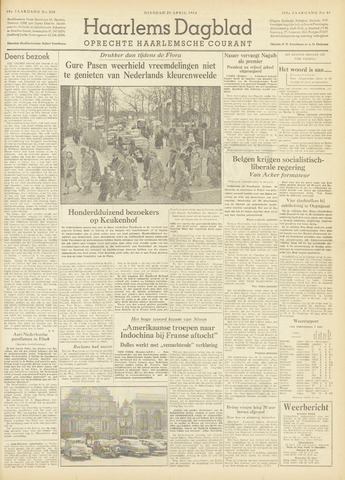Haarlem's Dagblad 1954-04-20