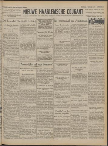 Nieuwe Haarlemsche Courant 1940-10-09