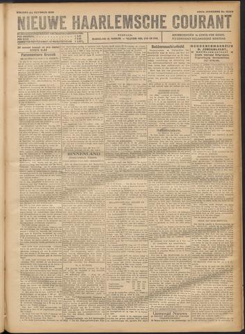 Nieuwe Haarlemsche Courant 1920-10-22