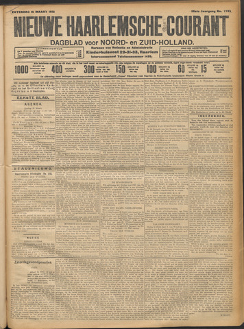 Nieuwe Haarlemsche Courant 1912-03-16