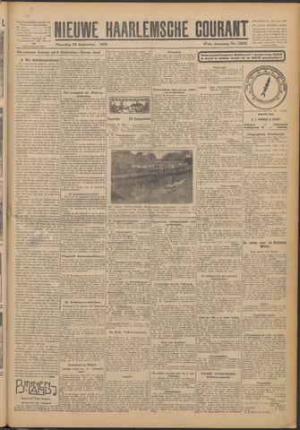 Nieuwe Haarlemsche Courant 1924-09-29