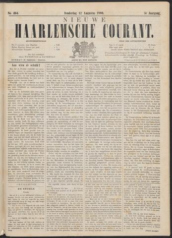 Nieuwe Haarlemsche Courant 1880-08-12