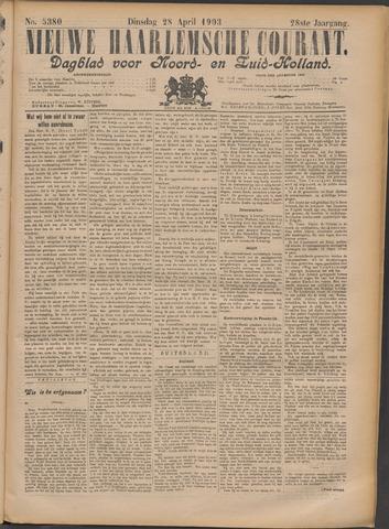 Nieuwe Haarlemsche Courant 1903-04-28