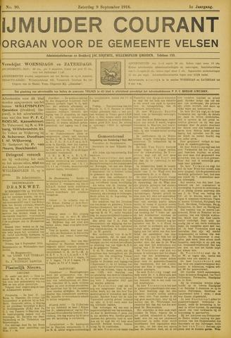 IJmuider Courant 1916-09-09