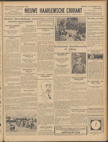 Nieuwe Haarlemsche Courant 1935-10-13