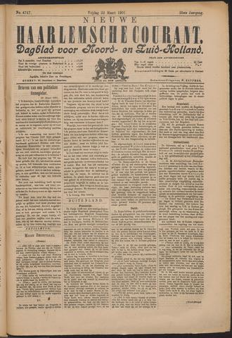 Nieuwe Haarlemsche Courant 1901-03-22