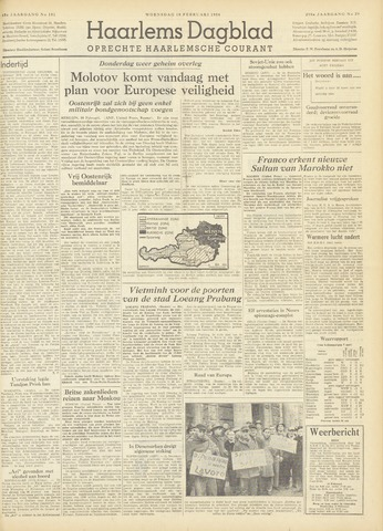 Haarlem's Dagblad 1954-02-10