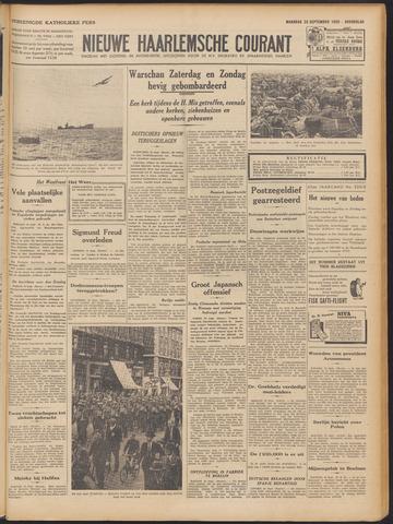 Nieuwe Haarlemsche Courant 1939-09-25