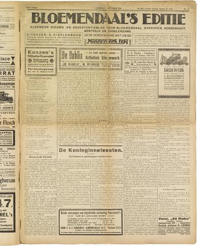Bloemendaal's Editie 1926-09-04