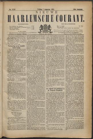 Nieuwe Haarlemsche Courant 1891-08-07