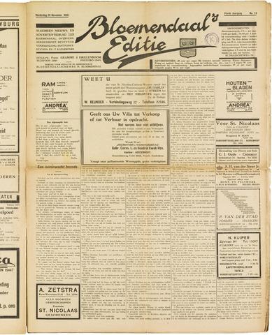 Bloemendaal's Editie 1928-11-29