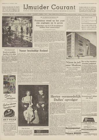 IJmuider Courant 1959-04-17