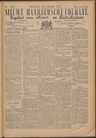Nieuwe Haarlemsche Courant 1905-02-23