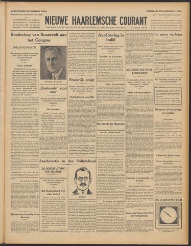 Nieuwe Haarlemsche Courant 1934-01-16