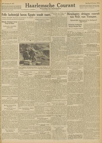 Haarlemsche Courant 1942-10-24