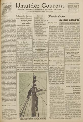 IJmuider Courant 1939-10-11