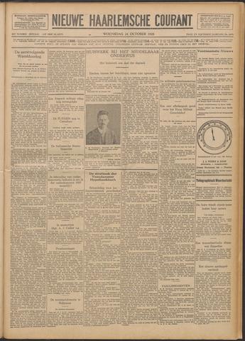 Nieuwe Haarlemsche Courant 1928-10-24