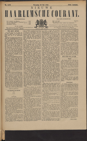 Nieuwe Haarlemsche Courant 1895-05-29