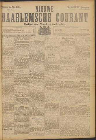 Nieuwe Haarlemsche Courant 1907-05-27