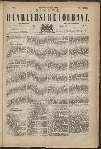 Nieuwe Haarlemsche Courant 1892-03-24