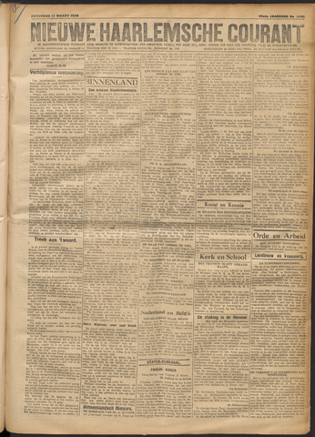 Nieuwe Haarlemsche Courant 1920-03-13