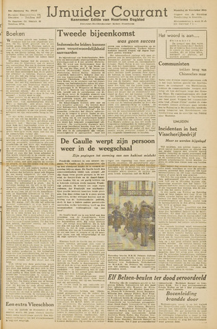 IJmuider Courant 1945-11-19