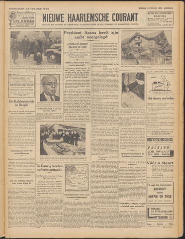 Nieuwe Haarlemsche Courant 1939-02-28