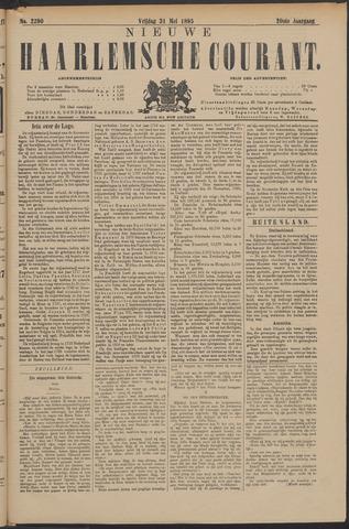 Nieuwe Haarlemsche Courant 1895-05-31