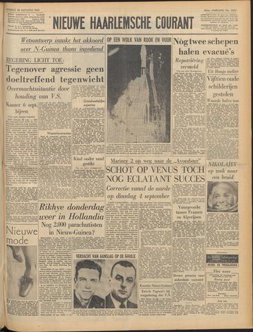 Nieuwe Haarlemsche Courant 1962-08-28