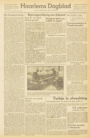 Haarlem's Dagblad 1945-11-06
