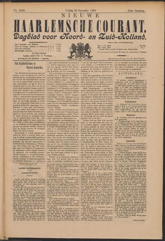 Nieuwe Haarlemsche Courant 1899-09-22