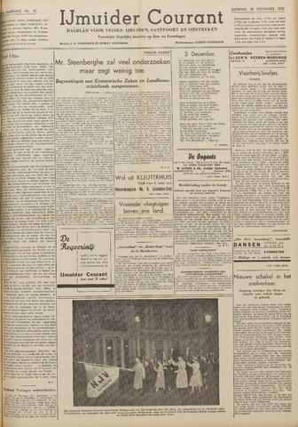 IJmuider Courant 1939-11-18