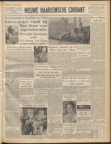 Nieuwe Haarlemsche Courant 1958-08-04