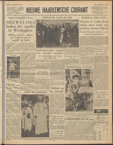 Nieuwe Haarlemsche Courant 1958-09-30