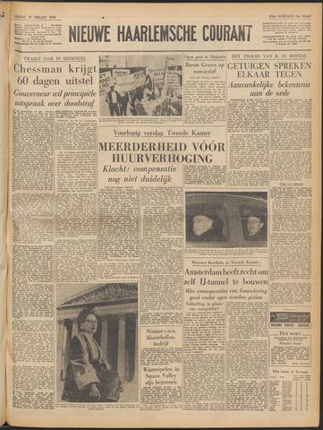 Nieuwe Haarlemsche Courant 1960-02-19