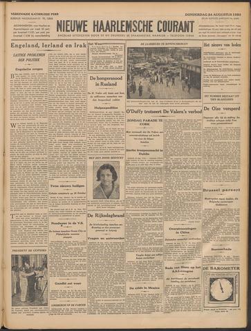 Nieuwe Haarlemsche Courant 1933-08-24