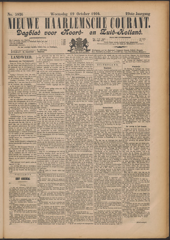 Nieuwe Haarlemsche Courant 1904-10-19