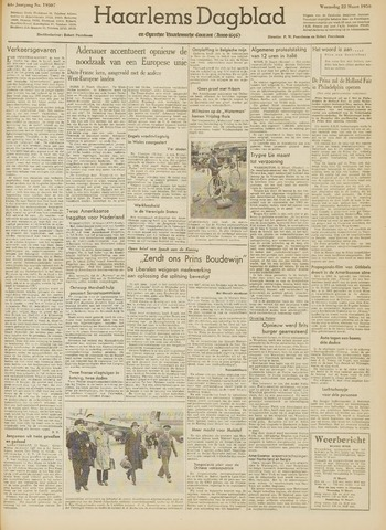 Haarlem's Dagblad 1950-03-22