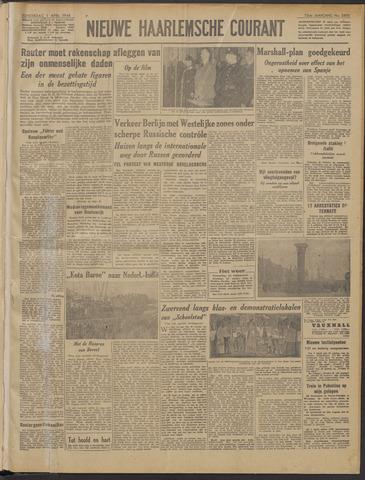 Nieuwe Haarlemsche Courant 1948-04-01