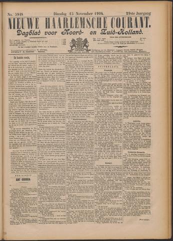 Nieuwe Haarlemsche Courant 1904-11-15