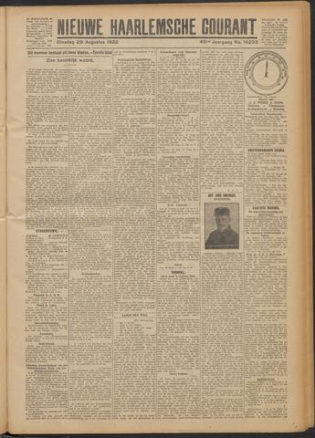 Nieuwe Haarlemsche Courant 1922-08-29