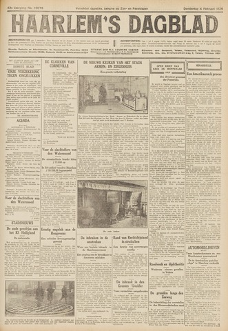 Haarlem's Dagblad 1926-02-04
