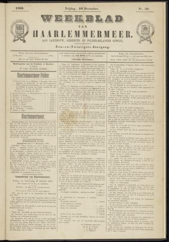 Weekblad van Haarlemmermeer 1880-12-10