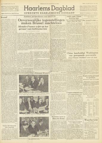 Haarlem's Dagblad 1954-08-20
