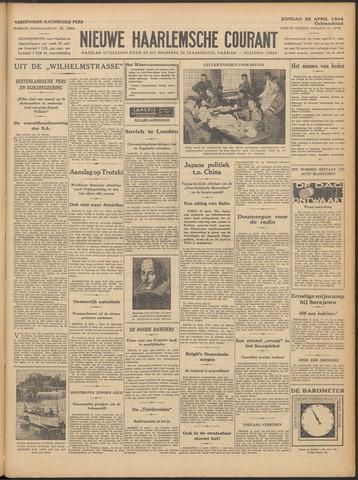 Nieuwe Haarlemsche Courant 1934-04-22