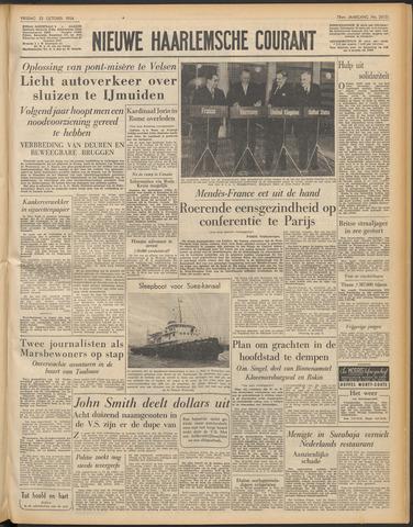 Nieuwe Haarlemsche Courant 1954-10-22