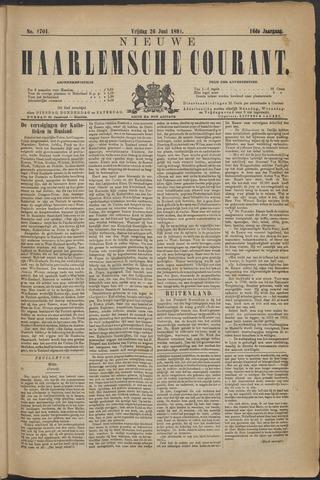 Nieuwe Haarlemsche Courant 1891-06-26