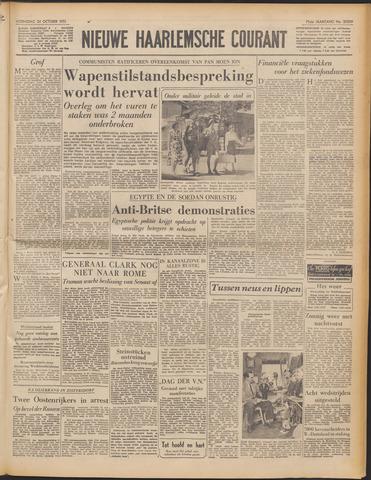 Nieuwe Haarlemsche Courant 1951-10-24