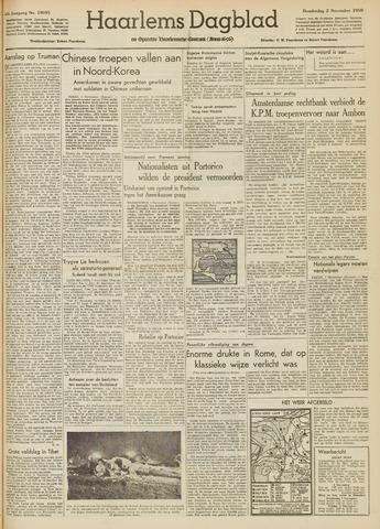 Haarlem's Dagblad 1950-11-02