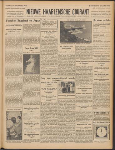 Nieuwe Haarlemsche Courant 1933-07-20